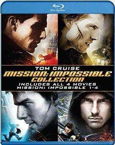 Quadrilogie Mission impossible Blu-ray (VF +VOSTFR)