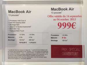 "Apple MacBook Air 13"" - i5 1.6GHz, 8 Go de ram, 128 Go SSD"