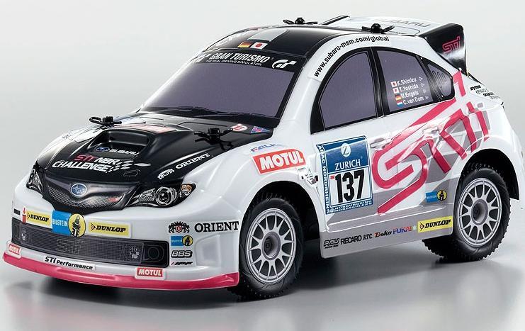 Voiture Radiocommandée Kyosho Mini Z Comic Racer Subaru Impreza WRX