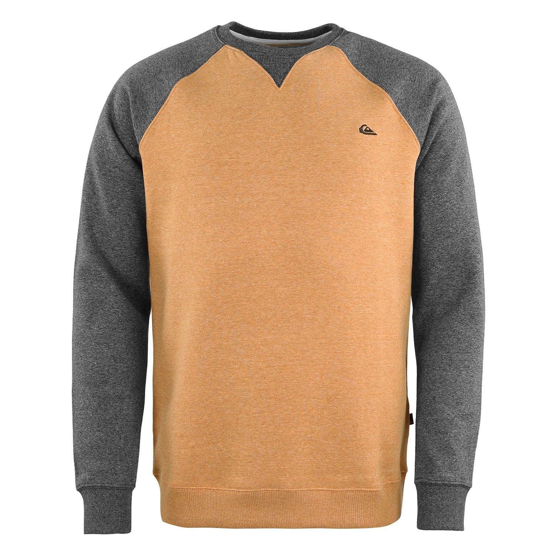 Sweat-shirt Quicksilver Everyday - gris / or (du XS au XXL)