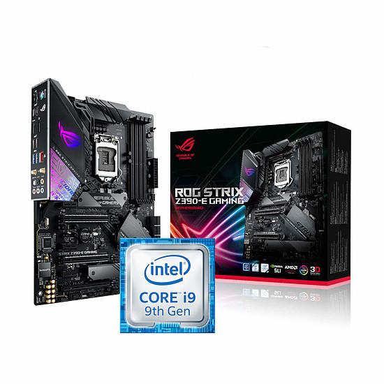 Sélection de Kits PC en Promotion - Ex: Processeur i9-9900K + Carte Mère Asus ROG Strix Z390-E Gaming + Call of Duty Black Ops 4 sur PC