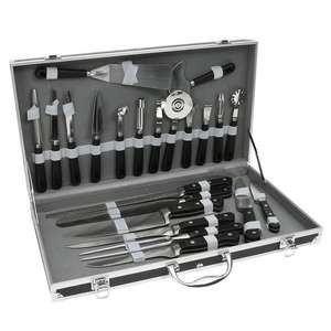 Valise cuisinier Pradel Excellence: 7 Couteaux + 15 Ustensiles