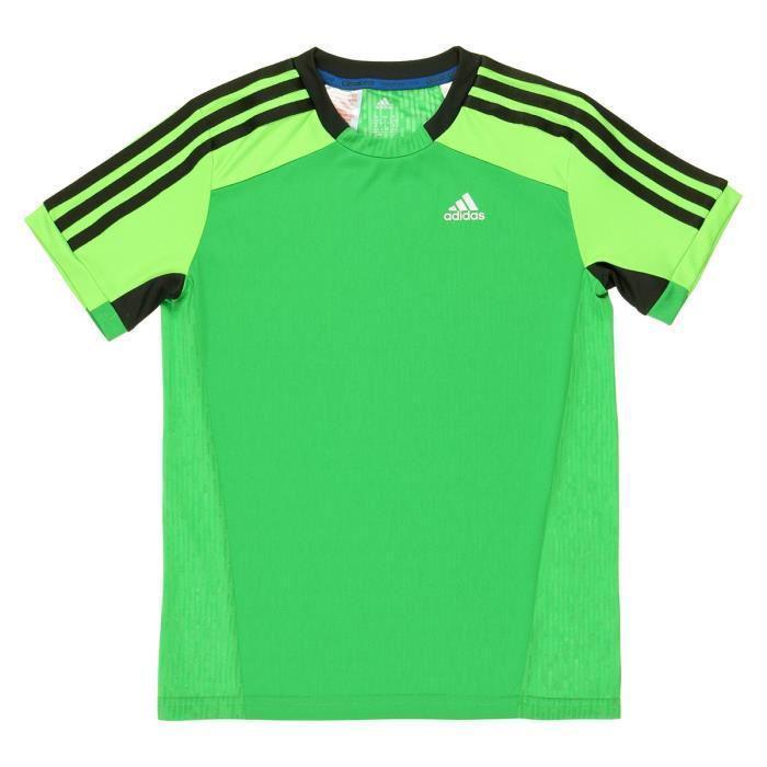 Sélection d'articles de Running en promo - Ex :  Maillot de Running Adidas  Homme - Vert