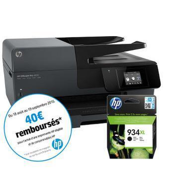 Imprimante HP Officejet Pro 6830 + Cartouche d'encre n°934XL