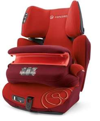 Siège auto enfant Concord Transformer Pro Tomato Red - marron ou rouge, groupes 1, 2 et 3