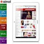 "Tablette 7"" IPS  Ainol Novo7 Venus Quad core 1.5Ghz 1280x800 Android 4.1 16GO"