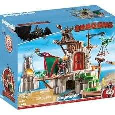 Playmobil 9243 Dragons - Campement île Beurk