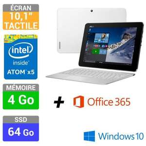 "PC portable 10.1"" Asus transformer T100HA-FU026T (Intel Atom x5-Z8500, 4Go RAM, 64Go eMMC)"