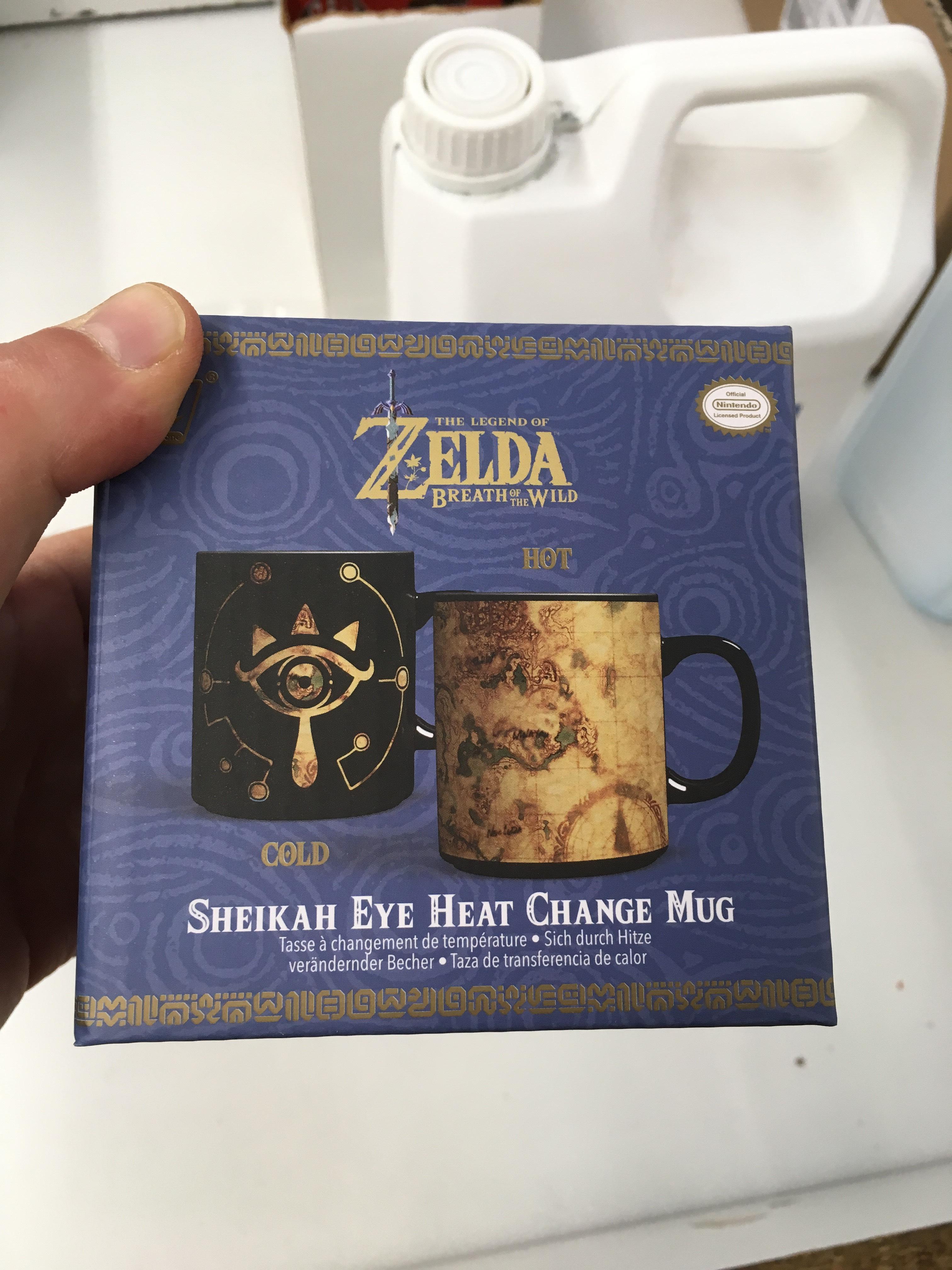 Mug thermochrome Zelda Breath of the Wild - Longeville-en-Barrois (55)