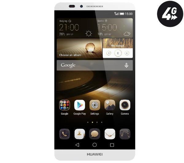 "Smartphone 6"" Huawei Mate 7 Silver 16Go"