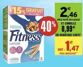 Céréales Nestlé Fitness