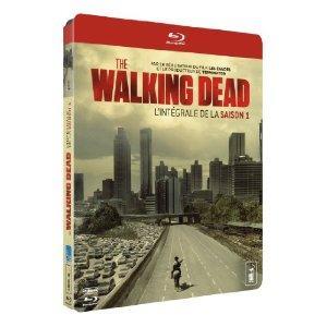 Walking Dead : Saison 1 et Saison 2 en Bluray (éditions françaises) / Frais de port inclus