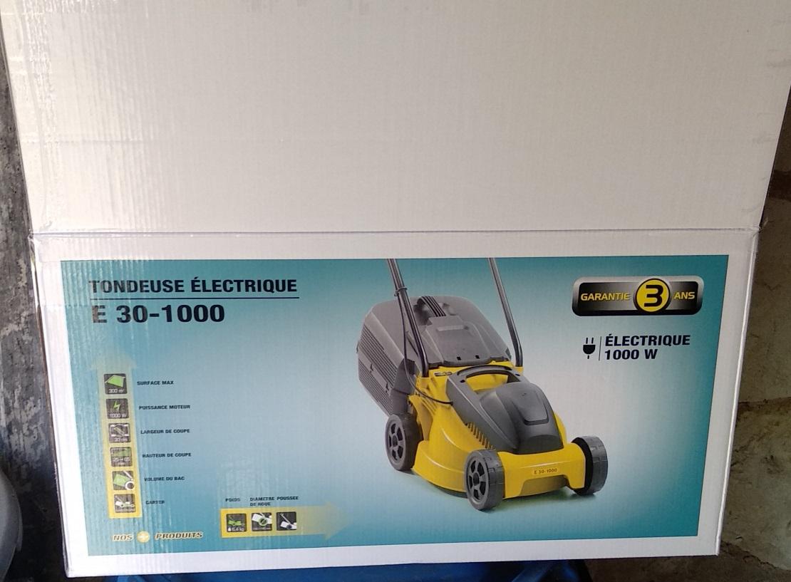 Tondeuse électrique E30-1000 - 1000W (Coop Atlantique 17)