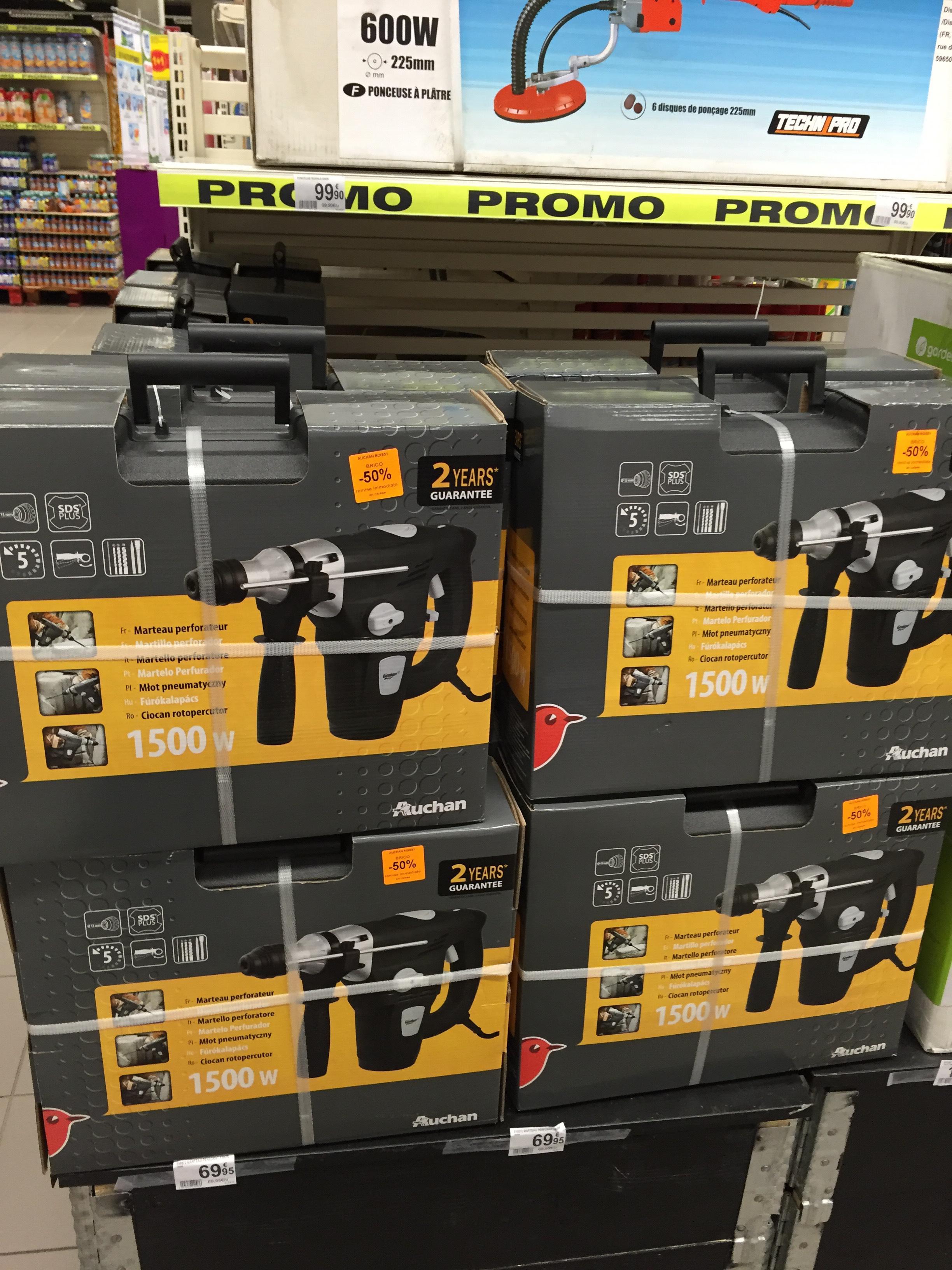 Marteau Perforateur Auchan 1500W