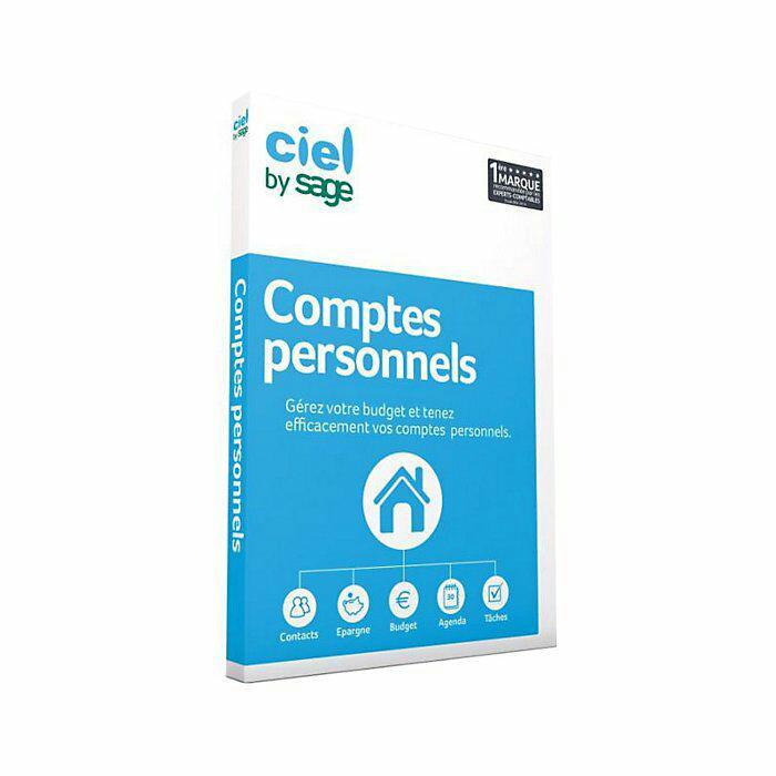 Logiciel Ciel Comptes Personnels 2015 sur PC