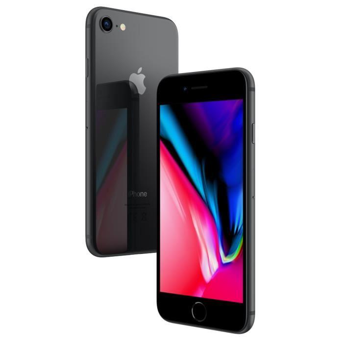 """Smartphone 4.7"""" Apple iPhone 8 - 64 Go, Gris sidéral (Vendeur tiers - Expédié par Cdiscount)"""