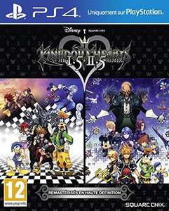 Kingdom Hearts HD 1.5 + 2.5 ReMIX sur PS4