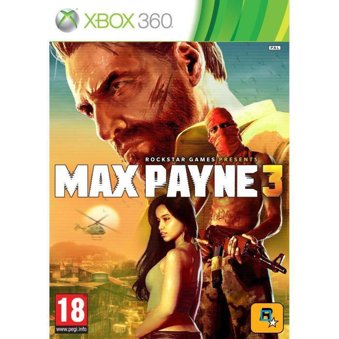 Jeu Max Payne 3 sur Xbox 360