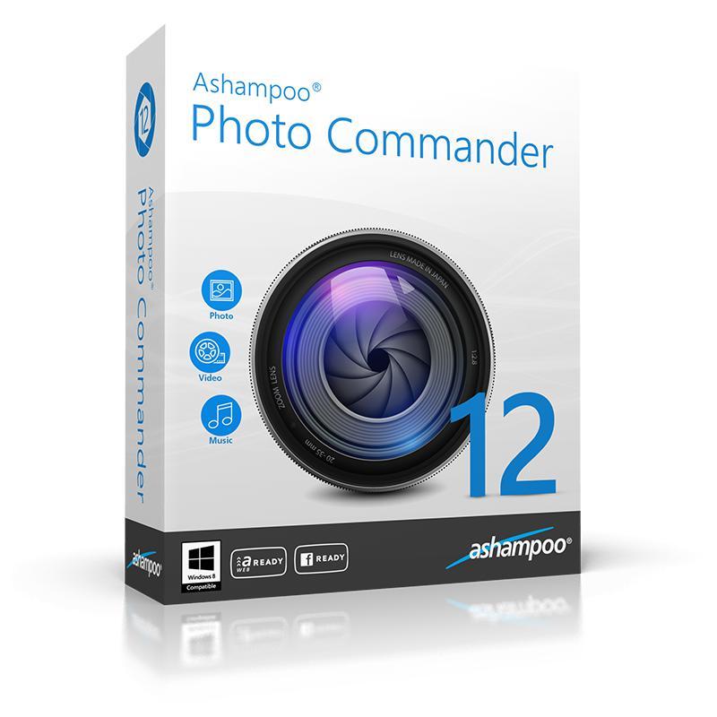 Logiciel Ashampoo Photo Commander 12 gratuit sur PC (Clé à vie)