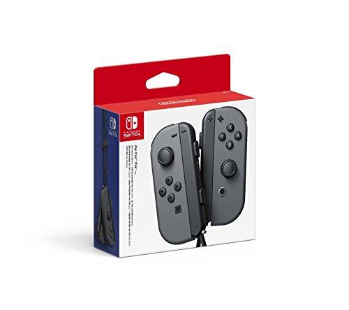 Paire de manettes Joy-Con gauche/droite pour Nintendo Switch - Gris