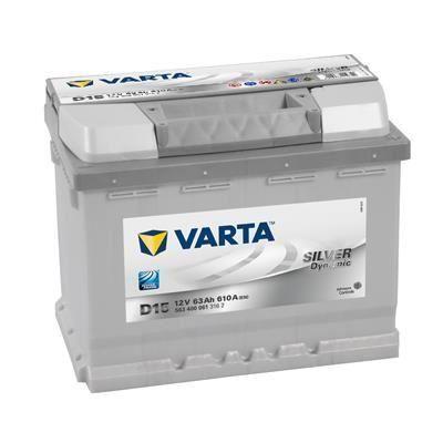 Batterie Auto Varta D15 - (+ droite), 12V, 63AH, 610A