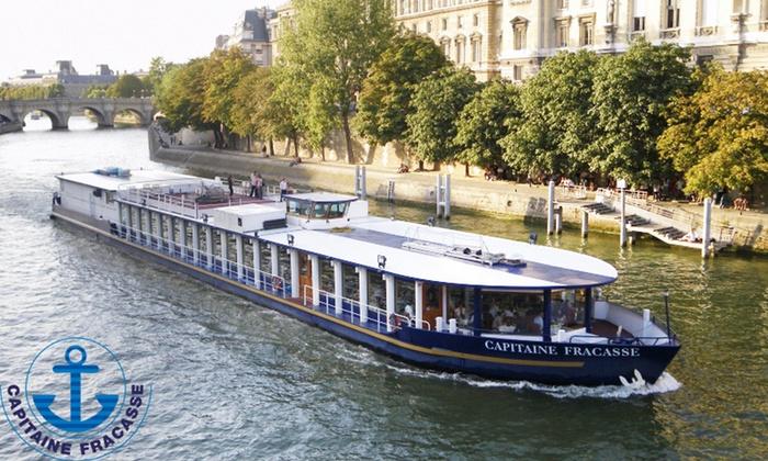 Brunch-croisière d'1h30 sur la Seine avec boissons et champagne supérieur pour 2 personnes avec Capitaine Fracasse