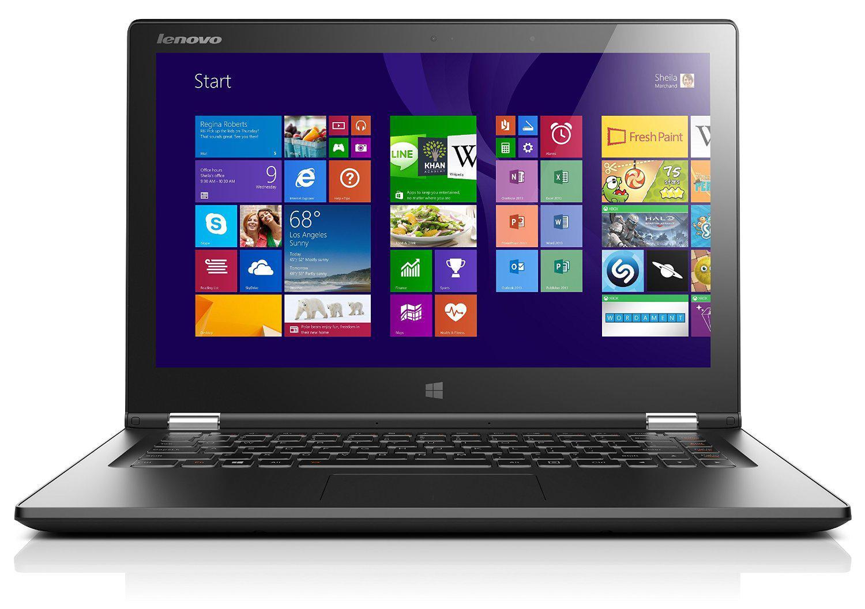 "PC portable Convertible Tactile 13""  Lenovo Yoga 2 13 Noir (Intel Core i5, 8 Go de RAM, 256 Go SSD, Intel HD Graphics)"