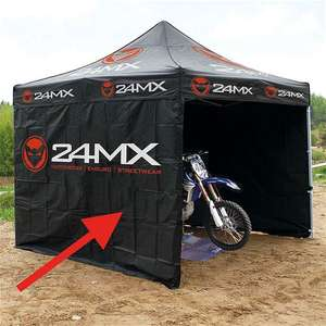 Sélection de tentes Paddock 24MX en promotion - Ex: Tente paddock / Tonnelle 24MX Race 3X3M Easy-UP AVEC 3 CLOISONS