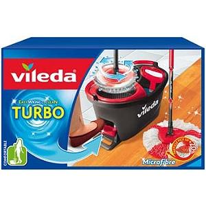 Kit Balai à frange Vileda Easy Wring & Clean Turbo (Via ODR de 5€)