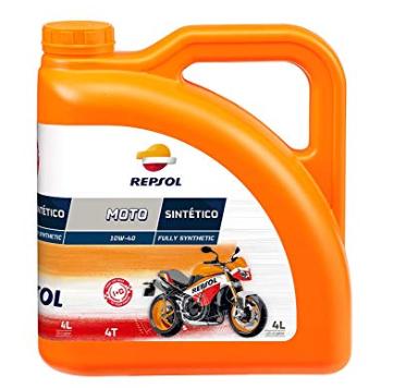 Huile Moteur Repsol Moto Sintetico 10W40 4T - 4L