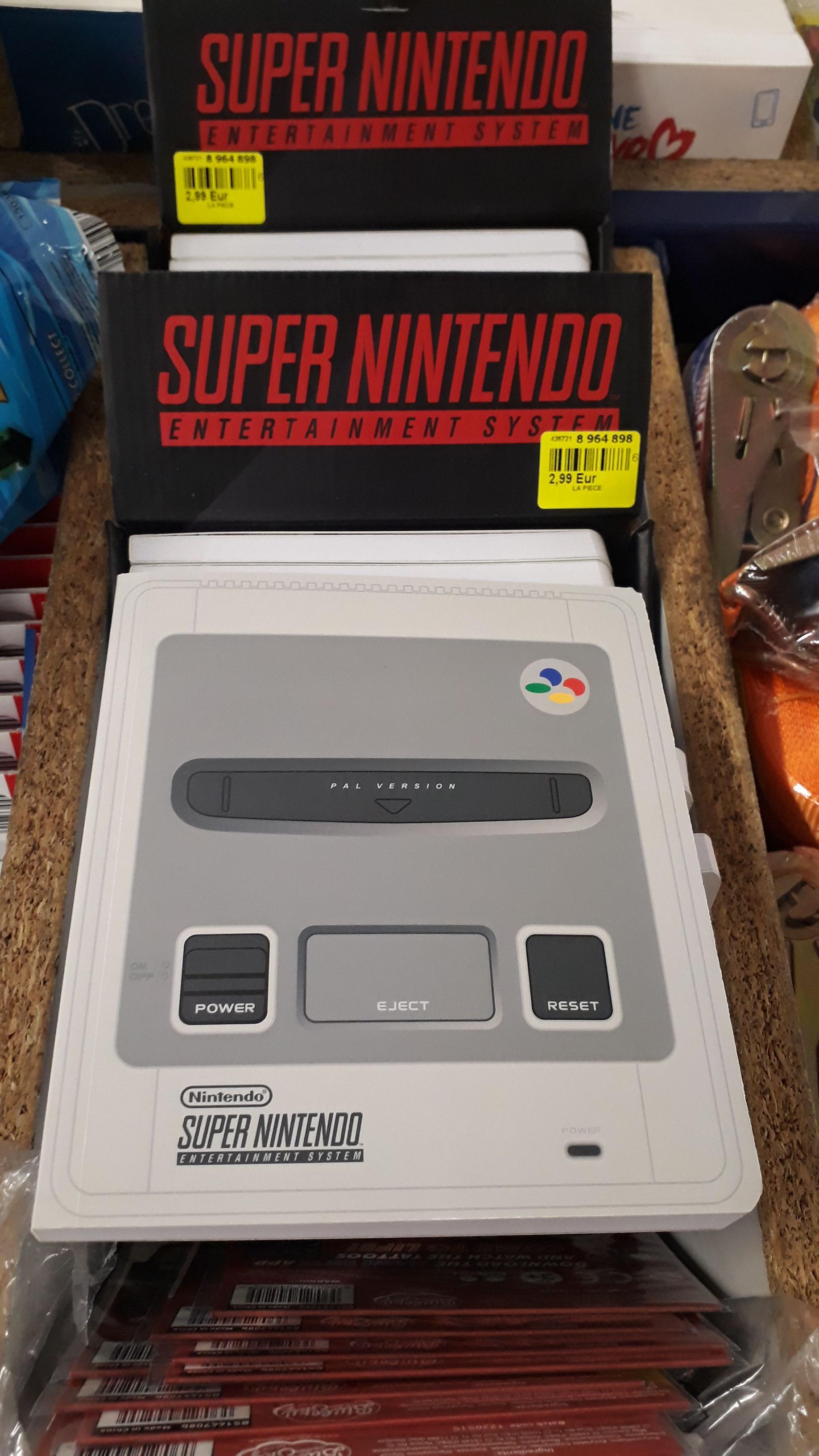 Cahier Nintendo SNES