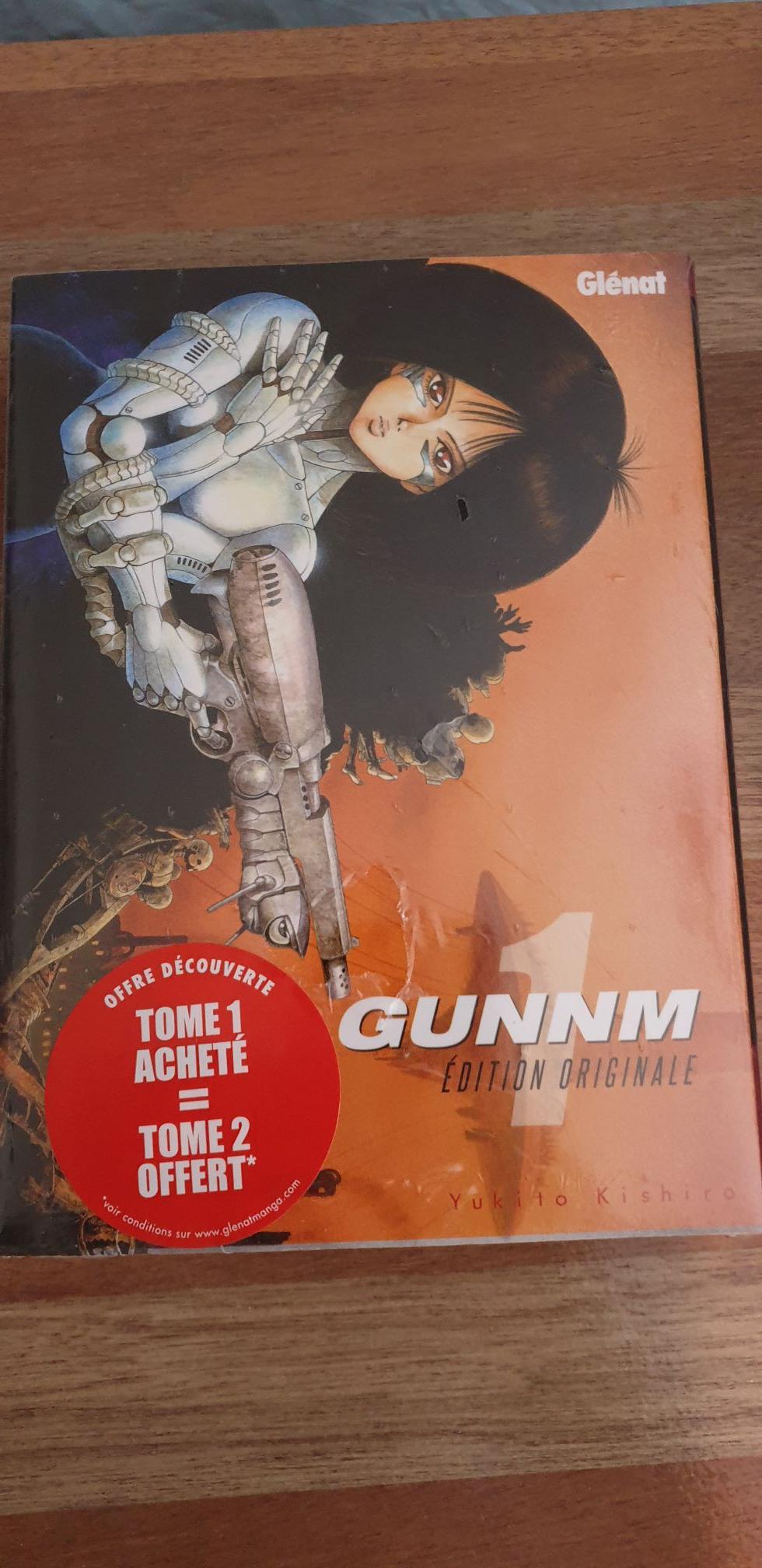 Pack de 2 mangas Gunnm (Tome 1 & 2) - Niort (79)