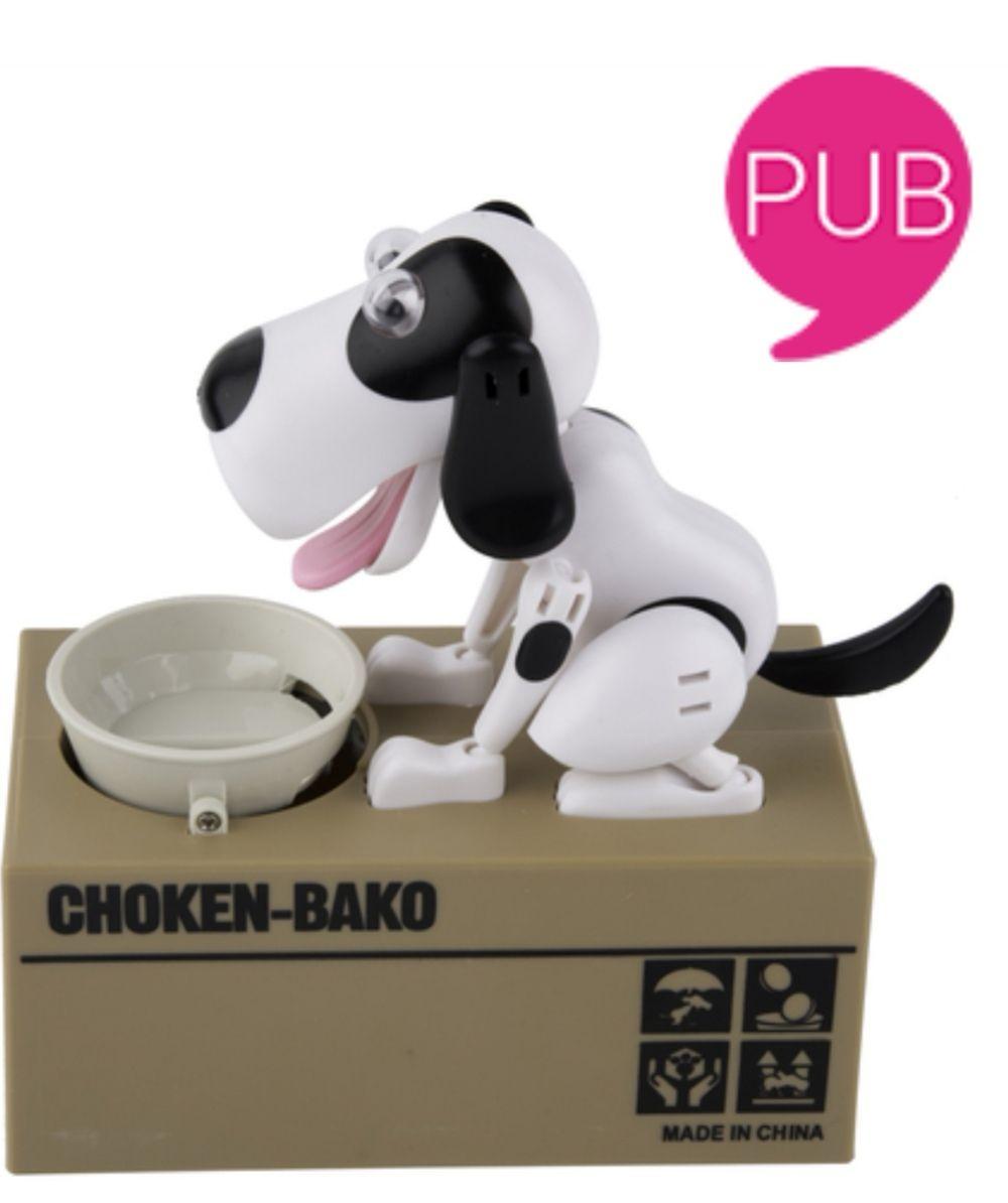 Tirelire animée Choken-Bako - Chat ou Chien