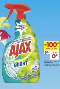 Lot de 2 sprays Ajax Boost - 2x750 Ml (via Shopmium)