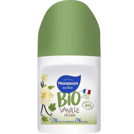 Monsavon déodorant femme vanille fleur figuier 50ml (via carte waaoh, BDR et Quoty) - Auchan Drive Cambrai (59)