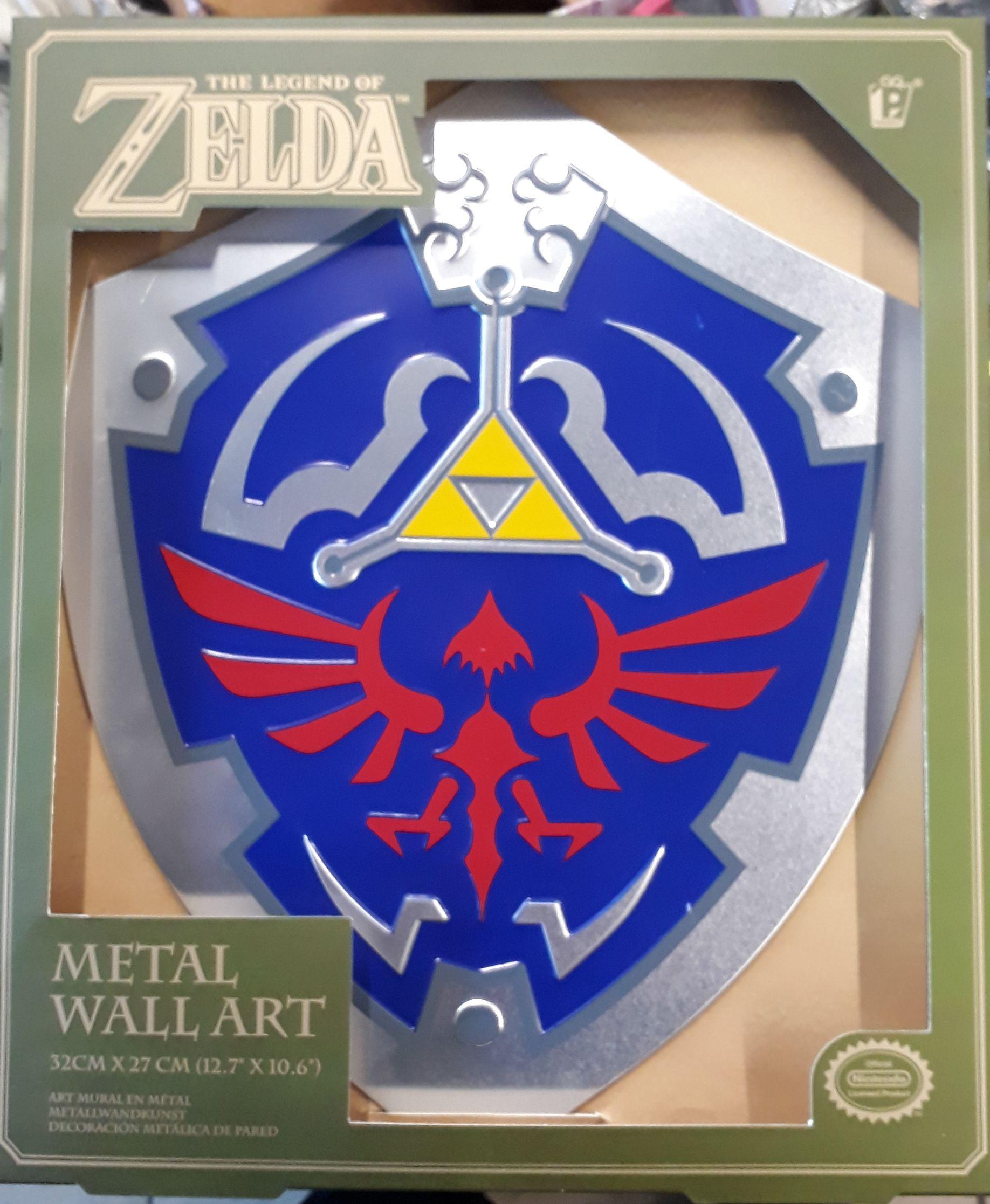 The Legend of Zelda Metal Wall Art