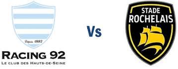 10€ de réduction sur les places pour le match de rugby Racing 92 - La Rochelle le 02/03/2019