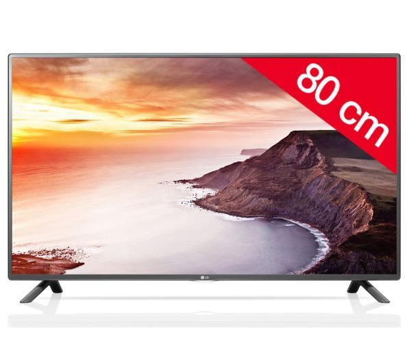 """TV 32"""" LG 32LF5800 - Full HD, Indice fluidité 400, Full LED, Smart TV"""