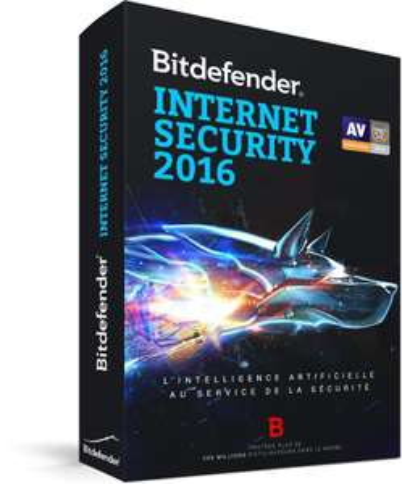 Logiciel Bitdefender Internet Security 2016 Gratuit (licence de 6 mois)