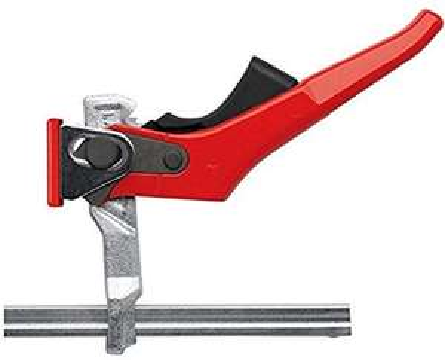 Étau de table tout en acier Bessey GTR16S6H -Gris/Rouge, 160/60 mm