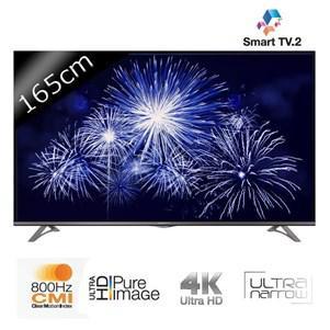 """Téléviseur 65"""" Thomson 65UA6606 Smart TV LED UHD 4K"""
