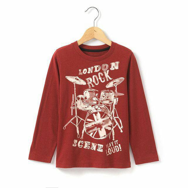 T-shirt R kids manches longues imprimé (3-12 ans)