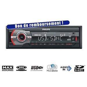 Autoradio Philips CE233 Autoradio USB SDHC 4x50W (via ODR 10€)