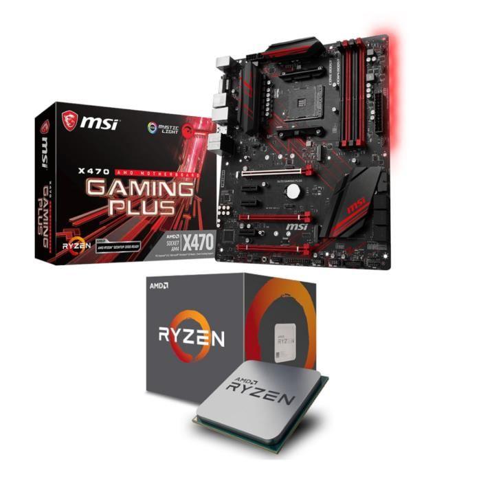 [Cdiscount à volonté] Pack Carte mère MSI X470 + Processeur AMD Ryzen 5 2600X + Tom Clancy's The Division 2 offert (dématérialisé)