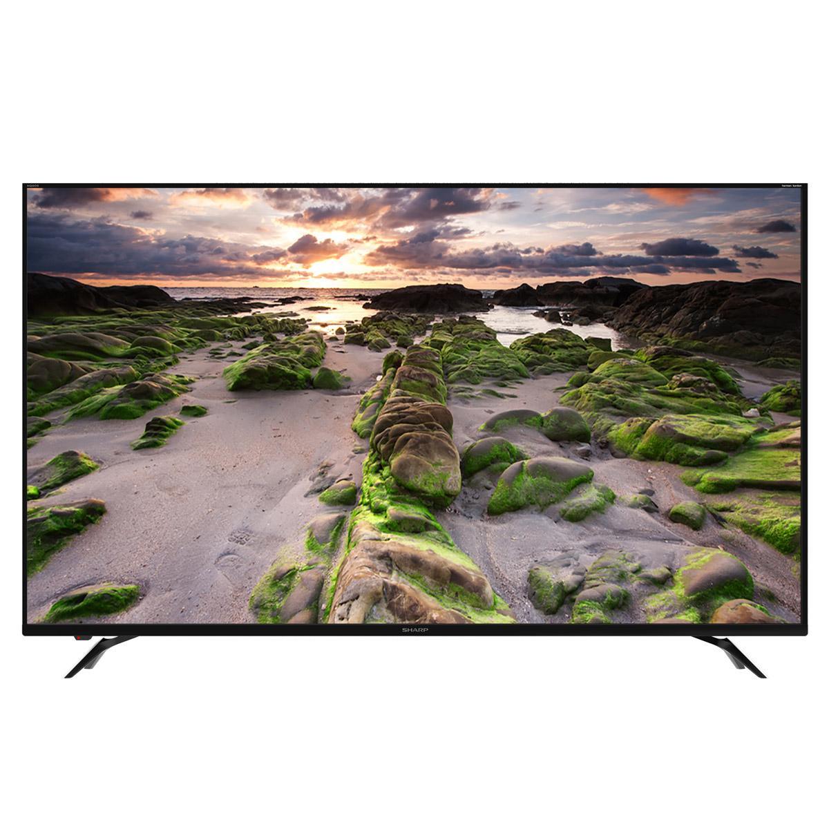 """TV 60"""" Sharp LC-60UI9362E - LED, 4K UHD, HDR 10, Smart TV, Son Harman Kardon"""