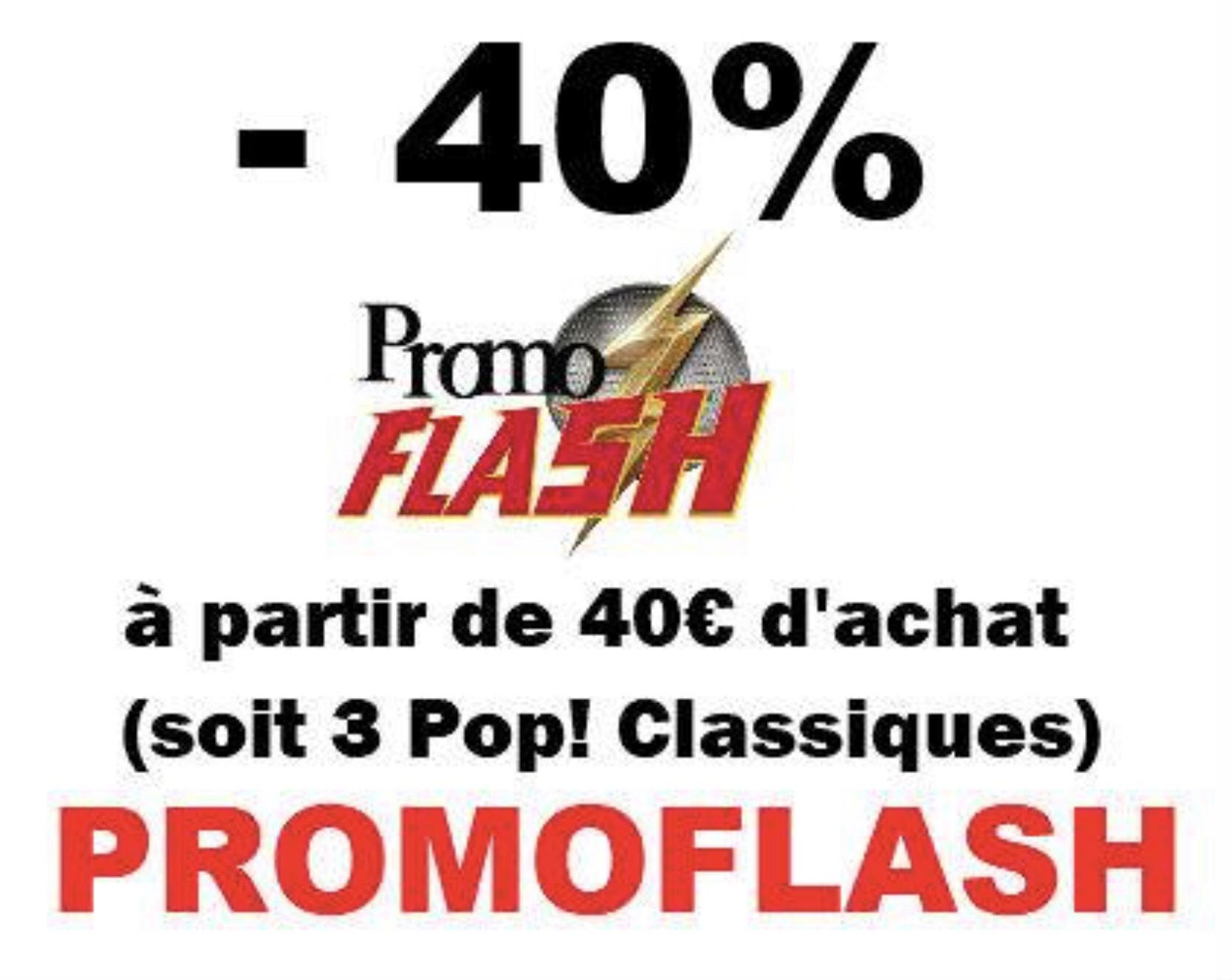 40% de réduction dès 40€ d'achat sur les Funko POP! (geekoupop.com)