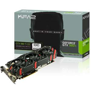 Carte graphique KFA2 GeForce GTX 980 Ti OC 6 Go