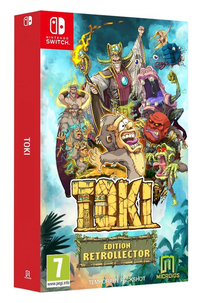 Sélection de jeux en promotion - Ex: Toki Edition Retrollector sur Nintendo Switch