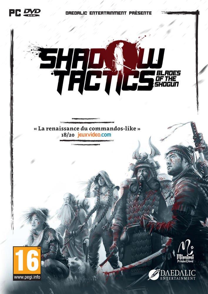 Sélection de jeux-vidéos en promotion - Ex: Shadow Tactics Blades of the Shogun sur PC