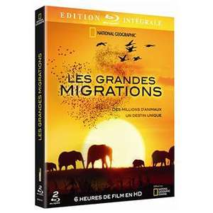 National Geographic - Les grandes migrations 2 Blu-rays